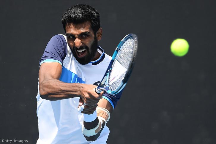 Prajnesh Gunneswaran a 2020-as Australian Openen