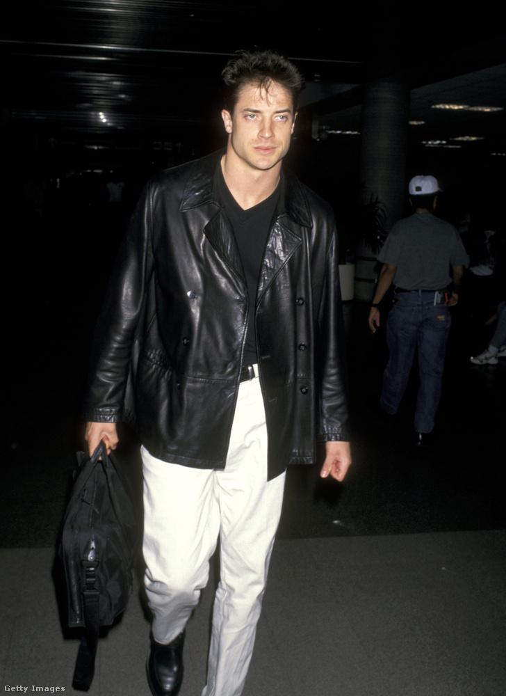 Több mint 20 éve, 1997-ben például így nézett ki Fraser