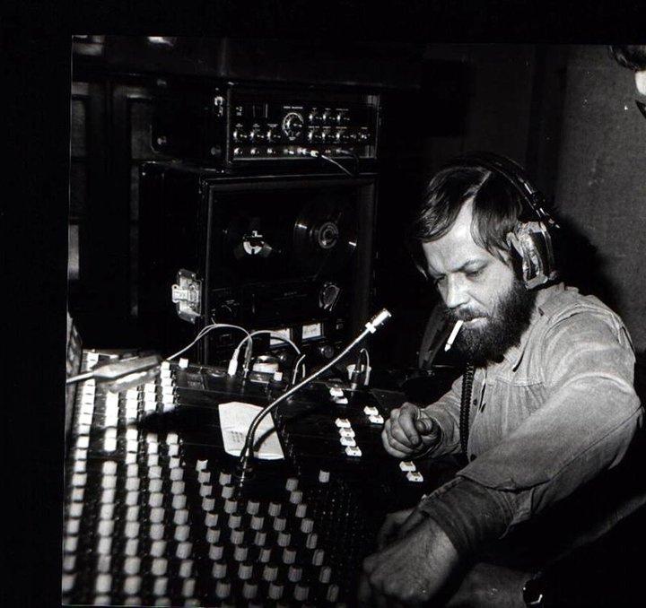 Nemes László az Omega Stúdióban (1979)