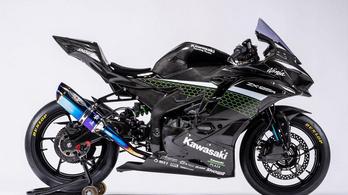 Az ezresek is irigykedve nézik ezt a 250-es Kawasakit