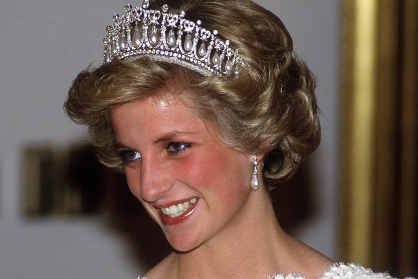 Álomszép Diana hercegnő kedvenc ruhája - Hófehér, gyöngyökkel díszített estélyi volt az egyik favoritja