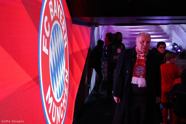 A Bayern München korábbi elnöke, Uli Hoeness