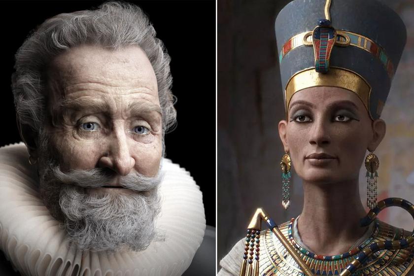 Törikvíz: melyik híres uralkodó arcrekonstrukcióját látod a képen?
