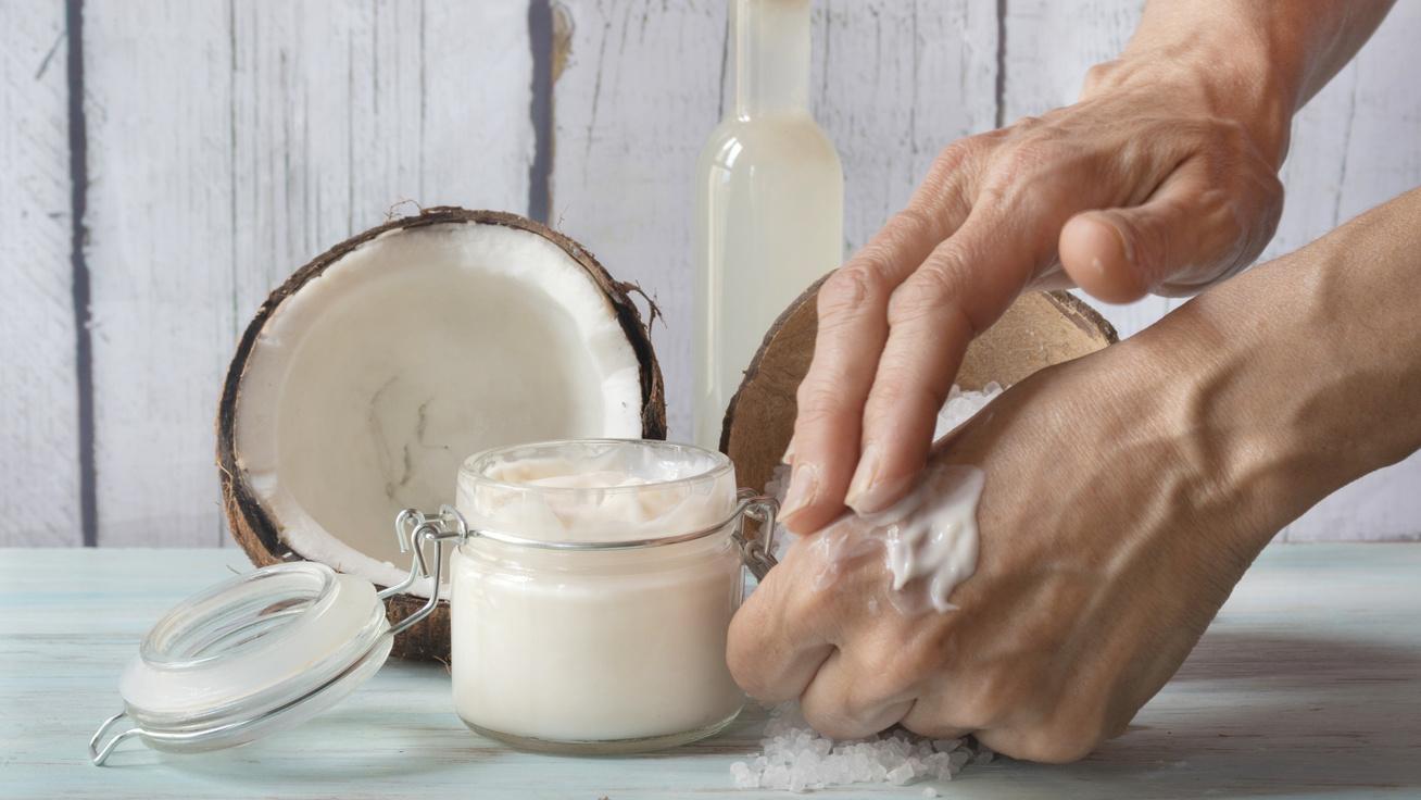 száraz kéz krém házilag hidratálás tápláló