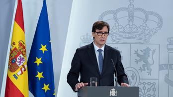 Stabilizációs szakaszba ért Spanyolország az egészségügyi miniszterük szerint