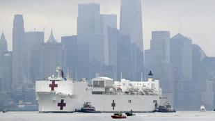 New York államban csaknem nyolcezerrel emelkedett a diagnosztizált fertőzöttek száma