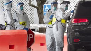 Egymillió fertőzötthöz közeledve így áll most a járvány