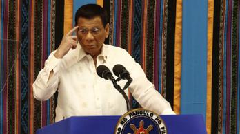 A Fülöp-szigetek elnöke agyonlövéssel fenyegette meg a járvány miatti korlátozások megszegőit