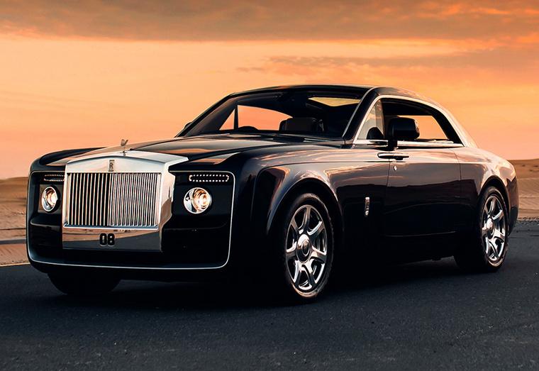 A Rolls-Royce Sweptailt 2017-ben az év legdrágább autójának választották, de nem hivatalosan