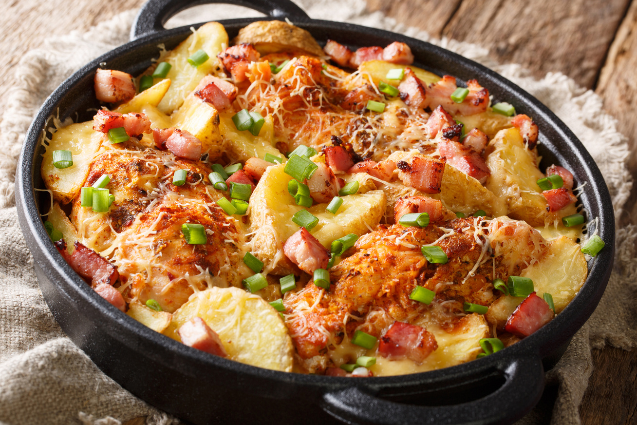 csirkemell-krumplival-baconnel-sutve
