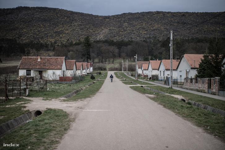 Tornanádaska egyik utcája