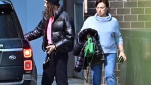 Most már biztos, hogy Irina Shayk anyukája is találkozott lánya új pasijával