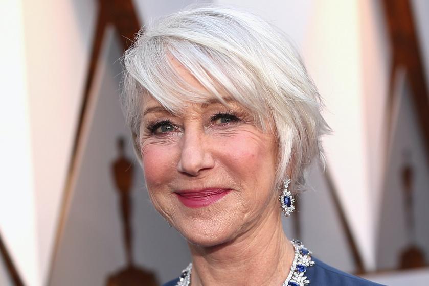 Helen Mirren így fest reggelente - Smink nélküli arcát mutatta meg a 74 éves sztár