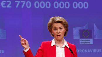 100 milliárd euróval pótolná ki az EU a koronavírus miatt kieső fizetéseket