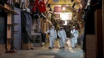 A török fertőzöttek több mint felét Isztambulban regisztrálták