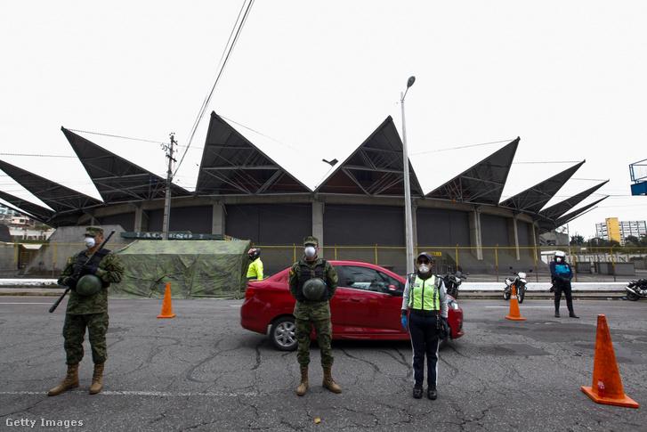 A koronavírus-járvány miatt lezárt Ecuador március 28-án