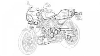 Ez lenne a benzinmotoros Harley Livewire?