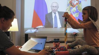 Putyin április végéig meghosszabbította az országos kényszerszabadságot