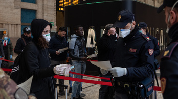Milánói polgármester: Amint lehet enyhítenek, de ha kell, rögtön szigorítanak