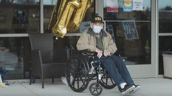 104. születésnapját ünnepelte a világ legidősebb koronavírus-túlélője