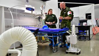 Észtország és Svédország is ideiglenes kórházakat nyit