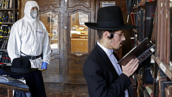 Súlyos lehet a koronavírus-helyzet egy ultraortodox zsidó városban