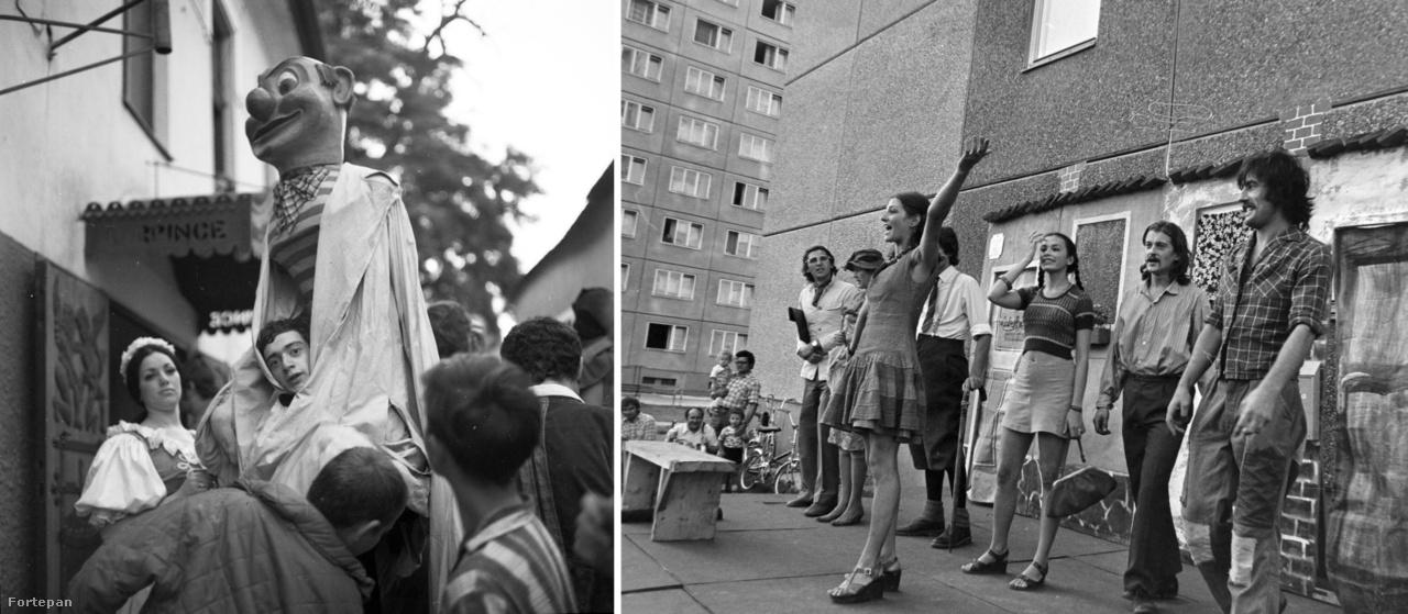 Szentendrei Teátrum, 1970.; Tanyaszinház Budapesten,1977.