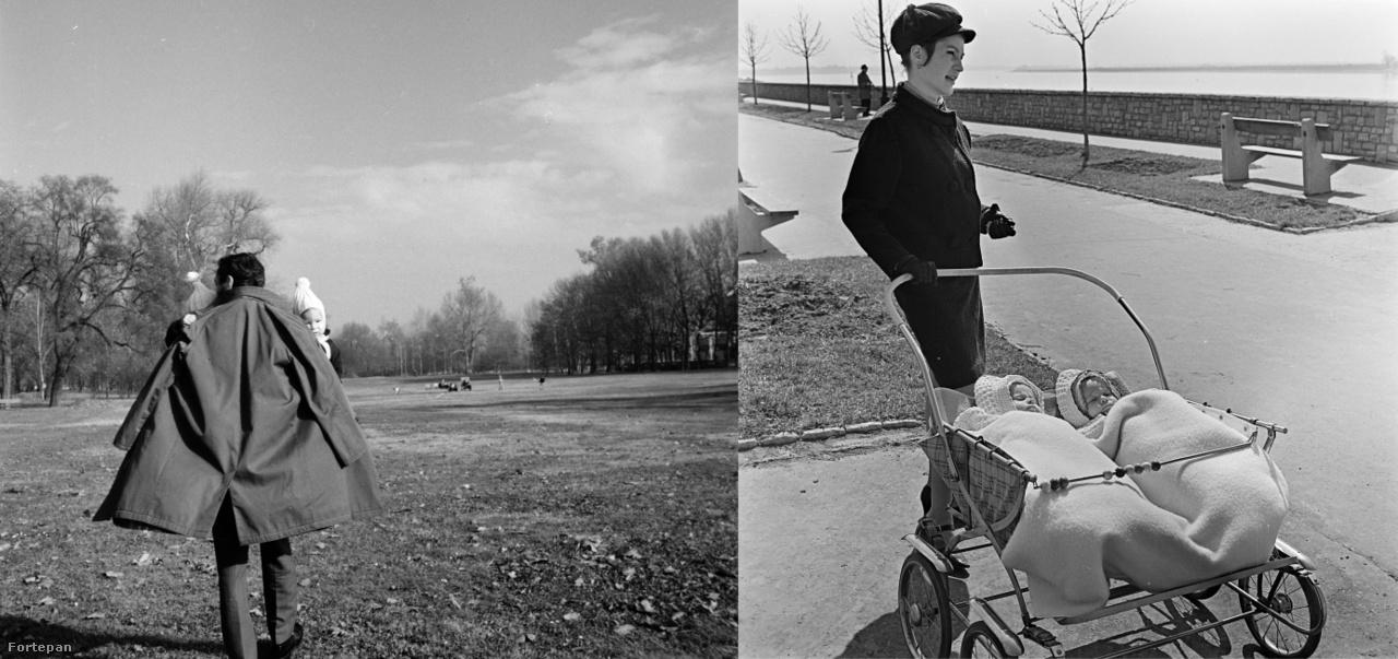 Ikrek a Városligetben, 1975.; Ikrek a Duna-parton, 1971.