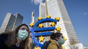 Soha nem tapasztalt mértékben zuhant az euróövezet gazdasági aktivitása márciusban