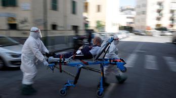 Olaszországban csökkent az áldozatok száma, de így is 700 fölött van