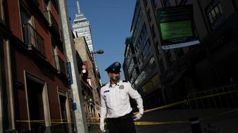 Hiába a távolságtartásra, otthonmaradásra vonatkozó rendelkezések, Mexikóban nem csökkentek az erőszakos bűncselekmények