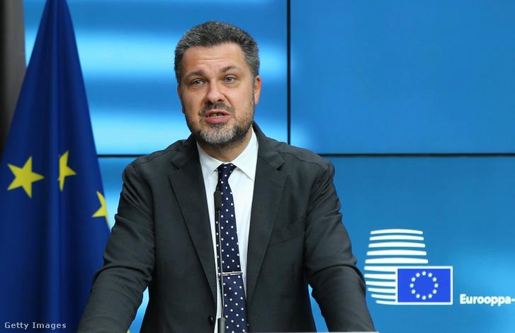 Luca Visentini az Európai Szakszervezeti Szövetség (ETUC) főtitkára