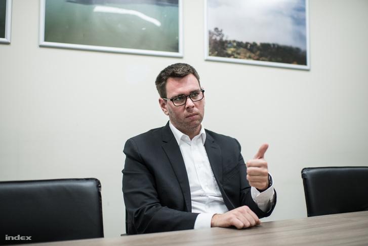 Vitézy Dávid a Budapesti Fejlesztési Központ igazgatója