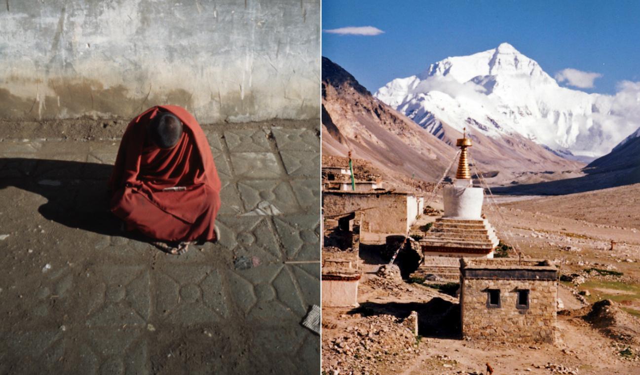 tibeti szerzetes nyitó