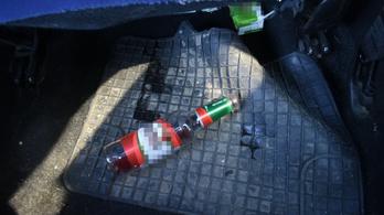 Részegen vezetve okozott balesetet, ezután derült ki, hogy jogsija sincs