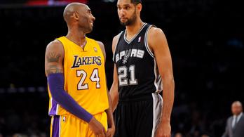 Kobe Bryant, Tim Duncan és Kevin Garnett is bekerül idén a Hírességek Csarnokába