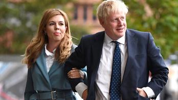 Koronavírusos lehet Boris Johnson várandós barátnője