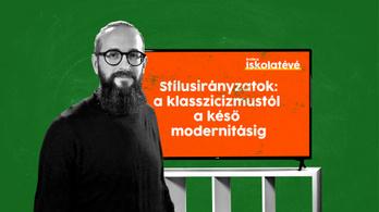 Ma 13 órakor magyaróra az Indexen: a klasszicizmustól a késő modernitásig