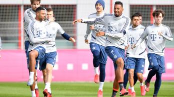 Kis csoportokban újrakezdi a Bayern hétfőtől az edzéseket
