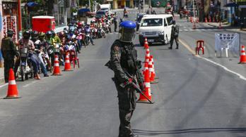 Agyonlőttek a fülöp-szigeti rendőrök egy karantén miatt feldühödött civilt
