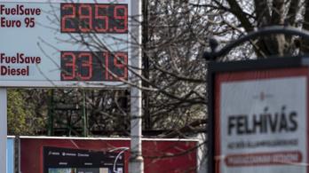 A 21. században még nem estek ekkorát az üzemanyagárak