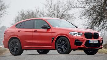 Teszt: BMW X4 M Competition – 2020.