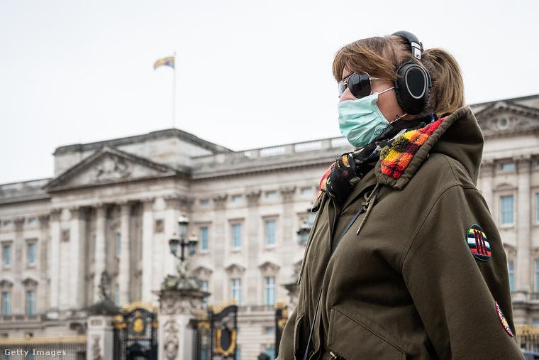 Sajnos a koronavírus Angliát sem kerülte el