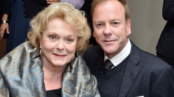 Meghalt Shirley Douglas kanadai színésznő, Kiefer Sutherland édesanyja