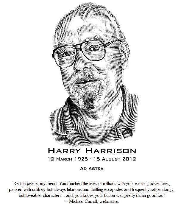 Így búcsúzott Harrison hivatalos weboldalának szerkesztője az elhunyt írótól