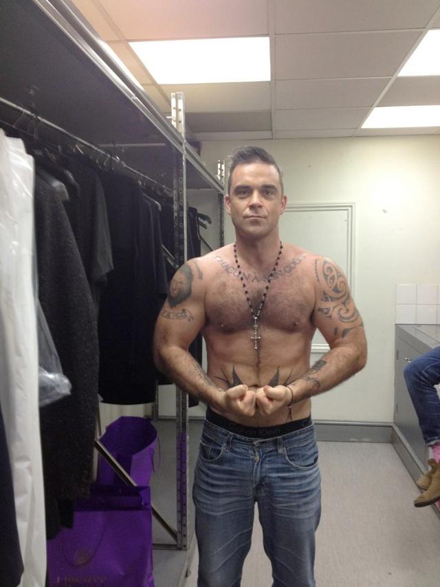 Robbie Williams 2012-ben