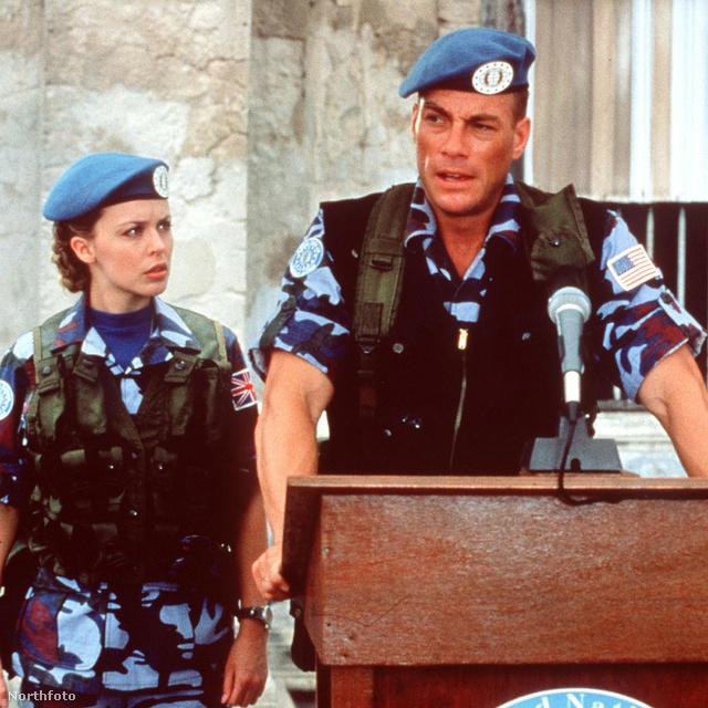 Az 1994-es filmben együtt játszott Minogue és Van Damme