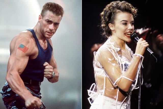 Van Damme és Minogue 1994-ben