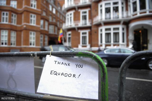 Köszönik Ecuadornak