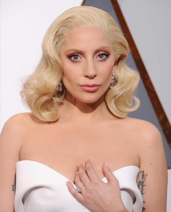 Lady GagaAz énekesnő részint önmagát is játszotta a Csillag Születik című filmben
